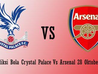 Prediksi Bola Crystal Palace Vs Arsenal 28 Oktober 2018