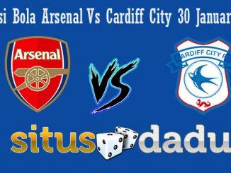 Prediksi Bola Arsenal Vs Cardiff City 30 Januari 2019