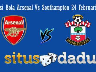 Prediksi Bola Arsenal Vs Southampton 24 Februari 2019