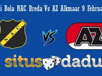 Prediksi Bola NAC Breda Vs AZ Alkmaar 9 Februari 2019