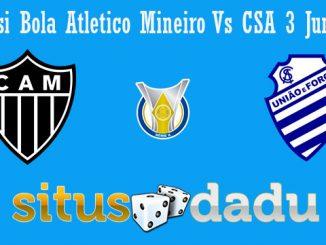 Prediksi Bola Atletico Mineiro Vs CSA 3 Juni 2019