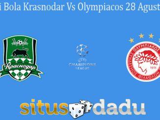 Prediksi Bola Krasnodar Vs Olympiacos 28 Agustus 2019