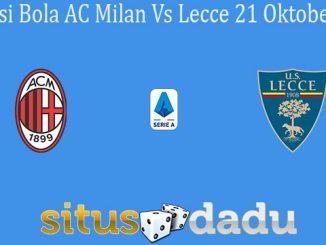 Prediksi Bola AC Milan Vs Lecce 21 Oktober 2019