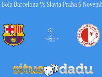 Prediksi Bola Barcelona Vs Slavia Praha 6 November 2019