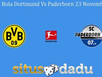 Prediksi Bola Dortmund Vs Paderborn 23 November 2019