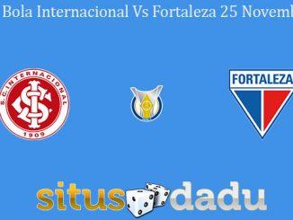 Prediksi Bola Internacional Vs Fortaleza 25 November 2019