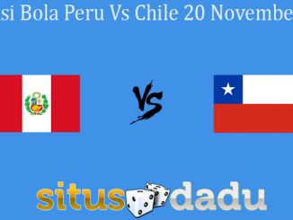 Prediksi Bola Peru Vs Chile 20 November 2019