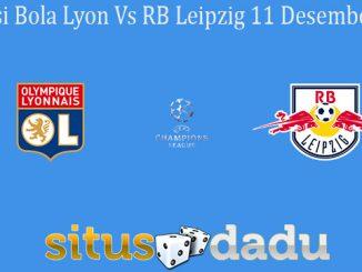 Prediksi Bola Lyon Vs RB Leipzig 11 Desember 2019