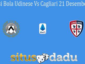 Prediksi Bola Udinese Vs Cagliari 21 Desember 2019