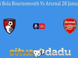 Prediksi Bola Bournemouth Vs Arsenal 28 Januari 2020