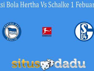Prediksi Bola Hertha Vs Schalke 1 Febuari 2020