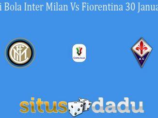 Prediksi Bola Inter Milan Vs Fiorentina 30 Januari 2020
