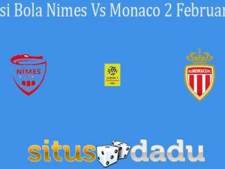 Prediksi Bola Nimes Vs Monaco 2 Februari 2020