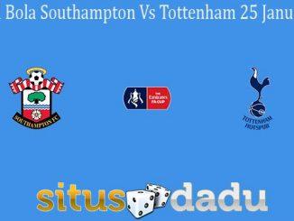 Prediksi Bola Southampton Vs Tottenham 25 Januari 2020