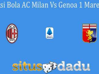Prediksi Bola AC Milan Vs Genoa 1 Maret 2020