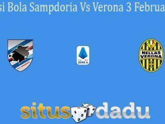 Prediksi Bola Sampdoria Vs Verona 3 Februari 2020