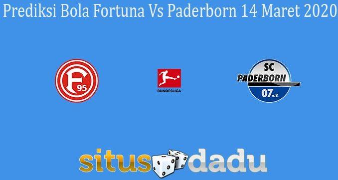Prediksi Bola Fortuna Vs Paderborn 14 Maret 2020