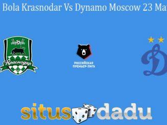 Prediksi Bola Krasnodar Vs Dynamo Moscow 23 Maret 2020