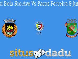 Prediksi Bola Rio Ave Vs Pacos Ferreira 8 Juni 2020