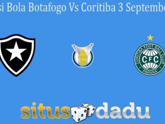 Prediksi Bola Botafogo Vs Coritiba 3 September 2020
