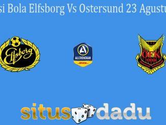 Prediksi Bola Elfsborg Vs Ostersund 23 Agustus 2020