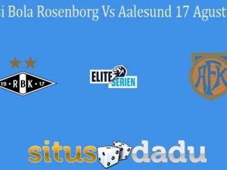 Prediksi Bola Rosenborg Vs Aalesund 17 Agustus 2020