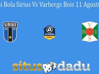 Prediksi Bola Sirius Vs Varbergs Bois 11 Agustus 2020