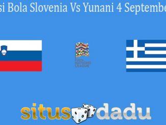 Prediksi Bola Slovenia Vs Yunani 4 September 2020