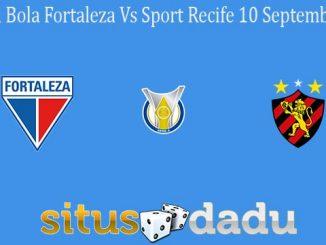 Prediksi Bola Fortaleza Vs Sport Recife 10 September 2020