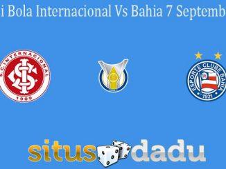 Prediksi Bola Internacional Vs Bahia 7 September 2020