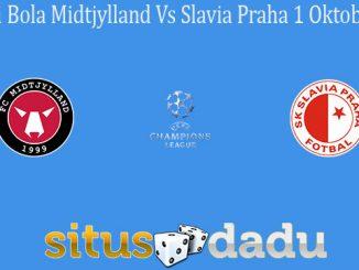 Prediksi Bola Midtjylland Vs Slavia Praha 1 Oktober 2020