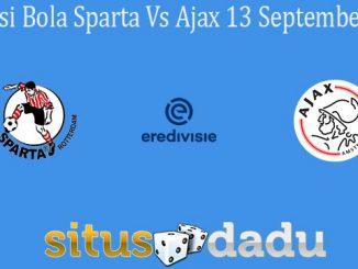 Prediksi Bola Sparta Vs Ajax 13 September 2020