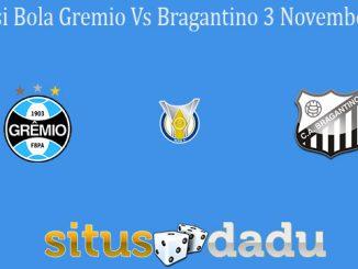 Prediksi Bola Gremio Vs Bragantino 3 November 2020