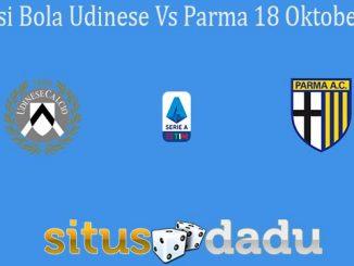 Prediksi Bola Udinese Vs Parma 18 Oktober 2020