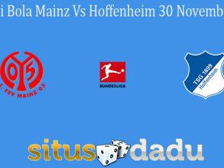 Prediksi Bola Mainz Vs Hoffenheim 30 November 2020