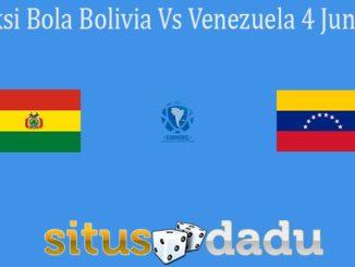 Prediksi Bola Bolivia Vs Venezuela 4 Juni 2021