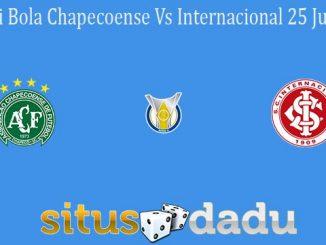 Prediksi Bola Chapecoense Vs Internacional 25 Juni 2021