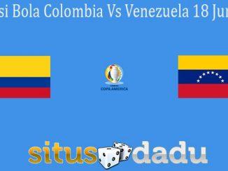 Prediksi Bola Colombia Vs Venezuela 18 Juni 2021