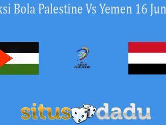 Prediksi Bola Palestine Vs Yemen 16 Juni 2021
