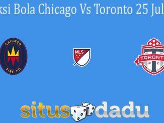 Prediksi Bola Chicago Vs Toronto 25 Juli 2021