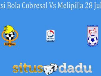 Prediksi Bola Cobresal Vs Melipilla 28 Juli 2021