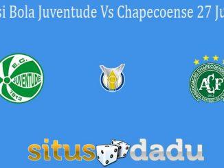 Prediksi Bola Juventude Vs Chapecoense 27 Juli 2021