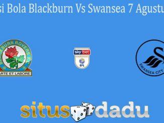 Prediksi Bola Blackburn Vs Swansea 7 Agustus 2021