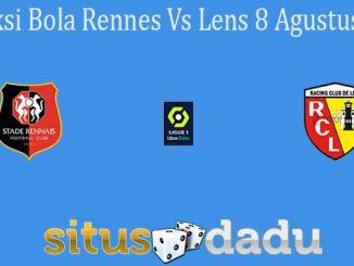 Prediksi Bola Rennes Vs Lens 8 Agustus 2021