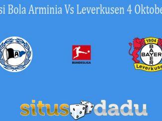 Prediksi Bola Arminia Vs Leverkusen 4 Oktober 2021
