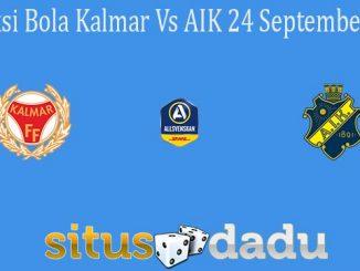 Prediksi Bola Kalmar Vs AIK 24 September 2021
