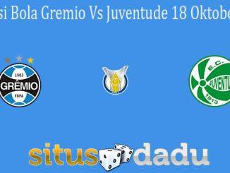 Prediksi Bola Gremio Vs Juventude 18 Oktober 2021